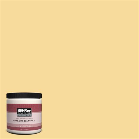 behr premium plus ultra 8 oz 360c 3 honey tone interior