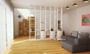 Zimmer Trennen Ikea : raumteiler b cherregal wei 300x300x20cm b cherregal ~ A.2002-acura-tl-radio.info Haus und Dekorationen