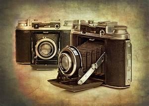 Vintage Cameras Photograph by Meirion Matthias