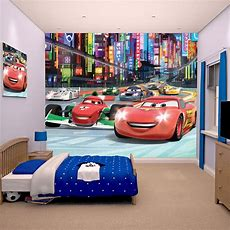 Disney Cars Wall Murals 6 Designs Available Kids Bedroom
