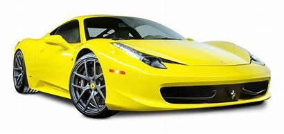Ferrari 458 Italia Transparent Cars Background Vehicle