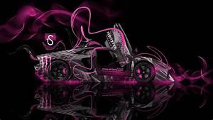 Monster Energy Lamborghini Aventador Open Doors 2014 el Tony