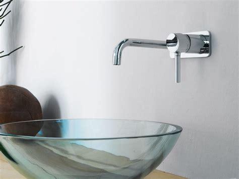 zucchetti rubinetti bagno pan miscelatore per lavabo a muro by zucchetti design