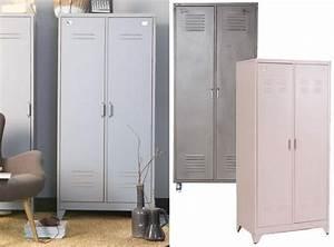 Armoire Vestiaire Metal : o trouver une armoire en m tal joli place ~ Edinachiropracticcenter.com Idées de Décoration