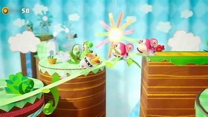 Crafted Yoshi Yoshis Desktop Kirby Extra Yarn