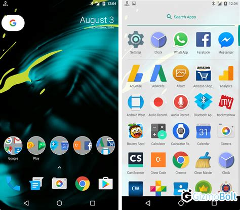 where is my android nexus launcher from android 7 leaked