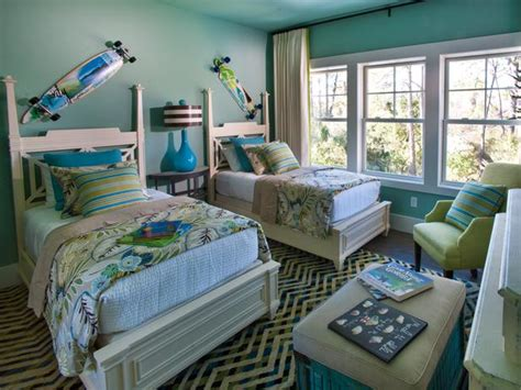 Ocean Themed Bathroom Decorating Ideas by Turquoise Paint Colors Contemporary Boy S Room