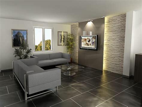 d 233 coration salon mur en living room murs de decoration salon et mur