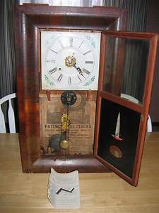Antique 1800 U0026 39 S Ansonia Weight Driven Wind Up Item  450 For