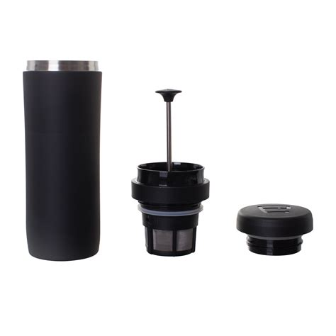 Unbranded coffee, tea & espresso makers filters. ESPRO Travel Coffee Press, Stainless Steel, 12 oz ...