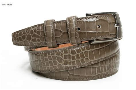 Italian Cowhide Leather by Italian Cowhide Leather Belt Snake Print Different Colours