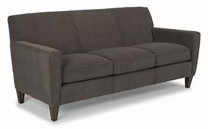 Digby Leather Sofa By Flexsteel Furniture Furniture Mall