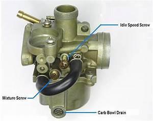 Carburetor Air  Fuel Adjustments - Spree
