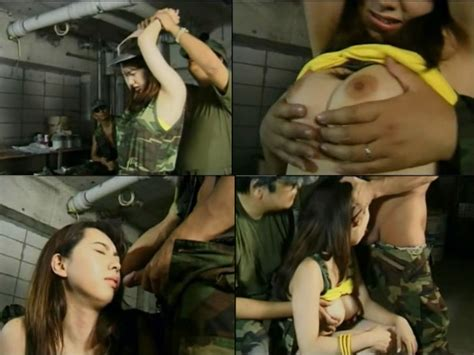 japanice captive girl was fucked by two wariors
