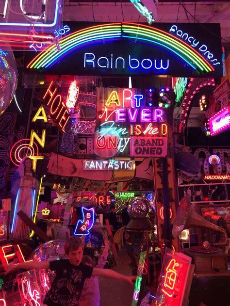 gods  junk yard   stow  neon art neon