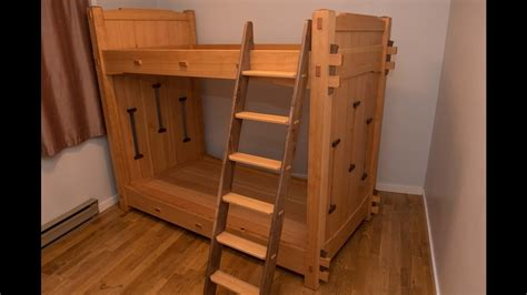 woodworking  worlds  bunk beds youtube