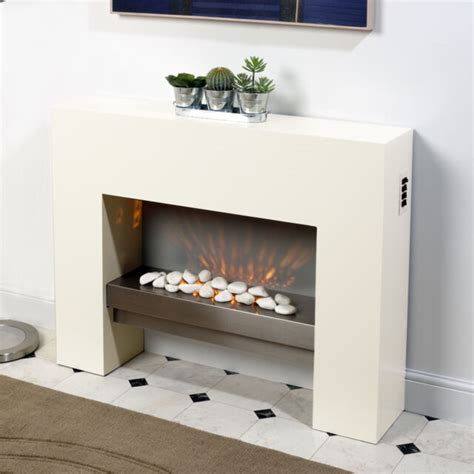 standing fire surround white electric mdf fireplace