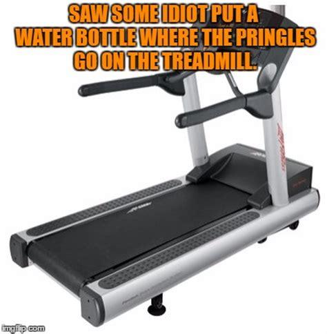 Treadmill Meme - pringles imgflip
