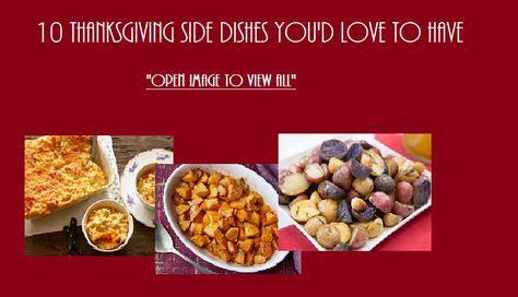 thanksgiving side dishes thanksgiving side dishes