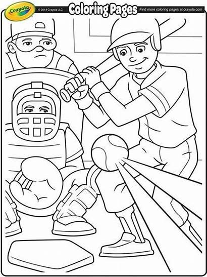 Baseball Coloring Pages Team Sports