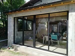 Baie Vitrée Pas Cher : pose et remplacement fen tres bois baie vitr e vaur al ~ Mglfilm.com Idées de Décoration