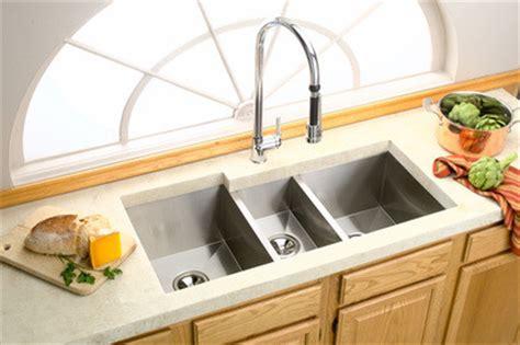 three bowl kitchen sink elkay avado bowl kitchen sink modern 6105