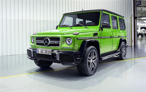 2016 Mercedes-benz G-class Facelift Brings Amg 4l V8 For