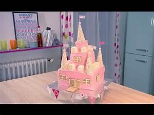 Faire Un Gateau D Anniversaire : comment faire un g teau de princesse how to make a princess castle cake youtube ~ Carolinahurricanesstore.com Idées de Décoration