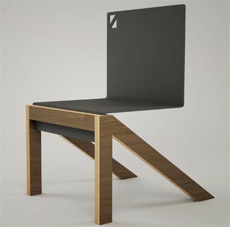 chaise en allemand triagonal la chaise par markus franke esprit design