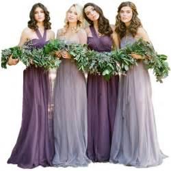 vestido de novia wedding dress vestidos de novia pastel mismatched purple and lavender bridesmaid dresses vintage vestido de