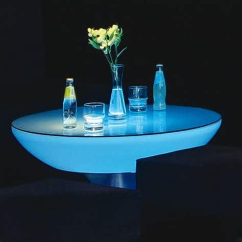table lumineuse led lounge 45cm pro accu rvb deco lumineuse
