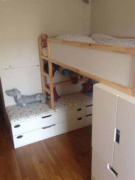stuva kinderzimmer kura bed gains height ikea hackers ikea hackers