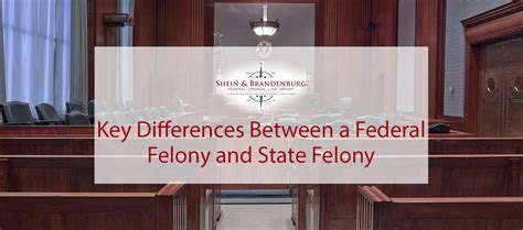 differences   federal felony  state felony fclc