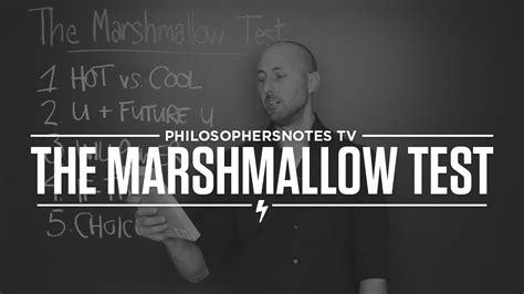 The Marshmallow Test By Walter Mischel