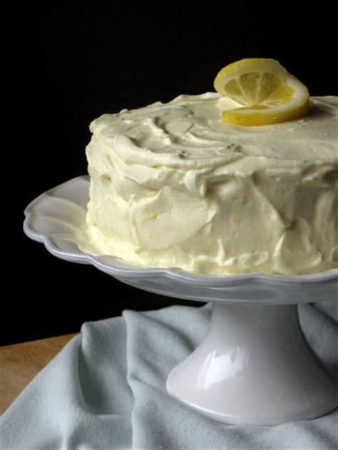 lemon basil layer cake  lemon cream frosting tasty