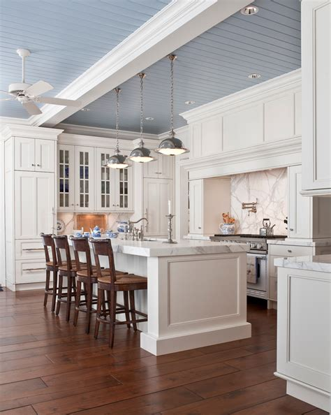 tongue and groove ceiling porch traditional with large rug