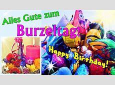 Geburtstagslied für Kinder, lustiges Burzeltagslied