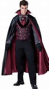 Halloween Kostüm Vampir : men 39 s vampire costume midnight count costume ~ Lizthompson.info Haus und Dekorationen