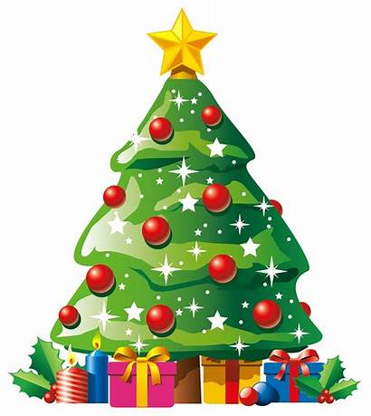 Christmas Clipart Giving Tree Gifts Library Transparent