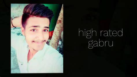 High Rated Gabru (cover)