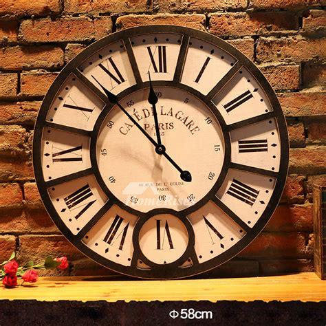 wall clock kits    wooden classic stylish