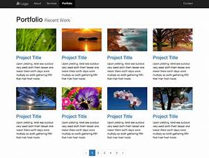 bootstrap templates free templates With free bootstrap portfolio templates