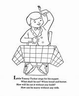 Coloring Goose Mother Nursery Rhymes Pages Tommy Tucker Bluebonkers Quiz Sheets Template Baby Embroidery Templates Hand Popular sketch template