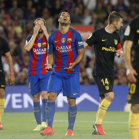Atletico Madrid vs. Barcelona: Spanish Copa Del Rey Leg 1 ...