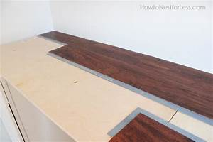 Craft Room Desk Tutorial - How to Nest for Less™