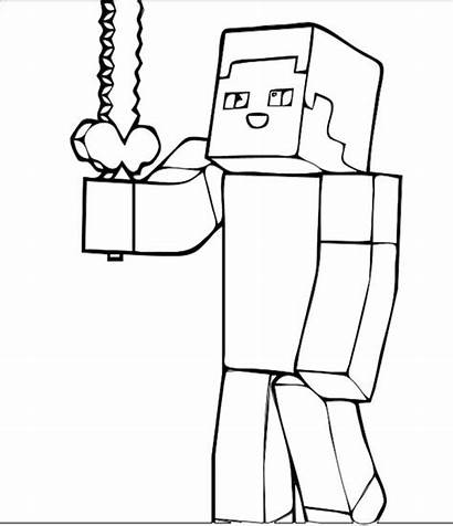 Minecraft Sword Coloring Pages Diamond Printable Getcolorings
