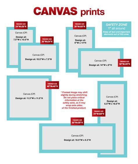 Standard Us Postcard Sizes Arts Arts Custom Artguide Canvas Prints Outreach
