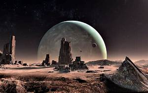 Alien Landscapes Wallpaper - WallpaperSafari