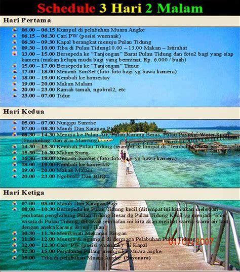 paket wisata pulau seribu kepulauanseributour