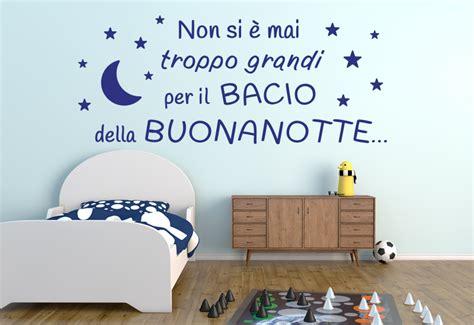 lettere della buonanotte della buonanotte frasi adesive per decorare la casa